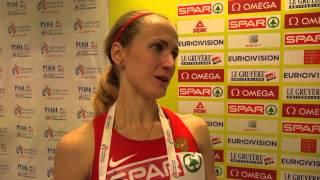 Екатерина Пистогова - 800м ФИНАЛ, Прага 2015