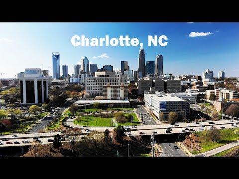 Charlotte in 4k - DJI Mavic Air