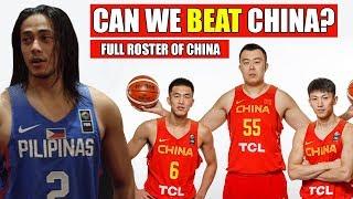 Kaya ba ng GILAS ang CHINA? | Official Lineup of CHINA | FIBA Asia Cup 2017 ᴴᴰ