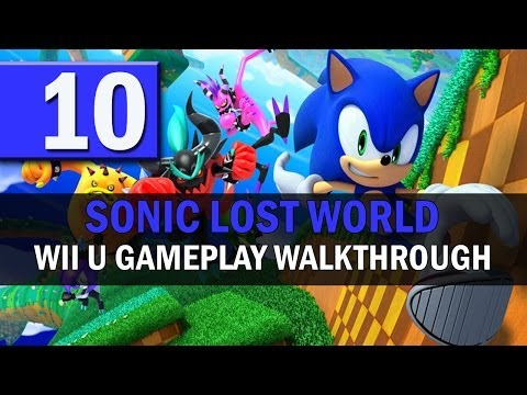 Sonic Lost World - Part 10: Hang on freeze a sec....A CASINO LEVEL!?