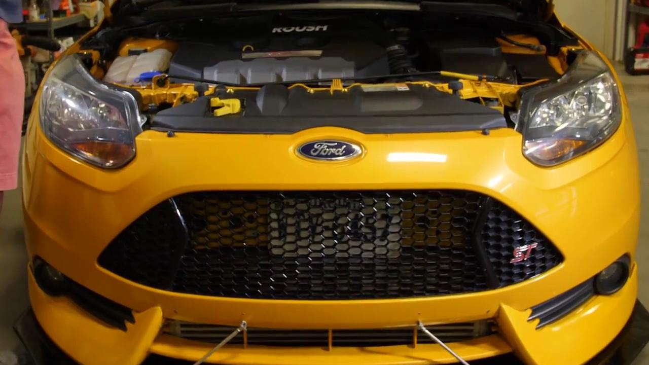 2011 2014 Ford Focus St Dress Up Bolt Engine Bay Kit Youtube