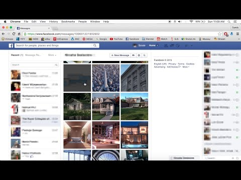 How To View Photos Sent On Facebook Messages