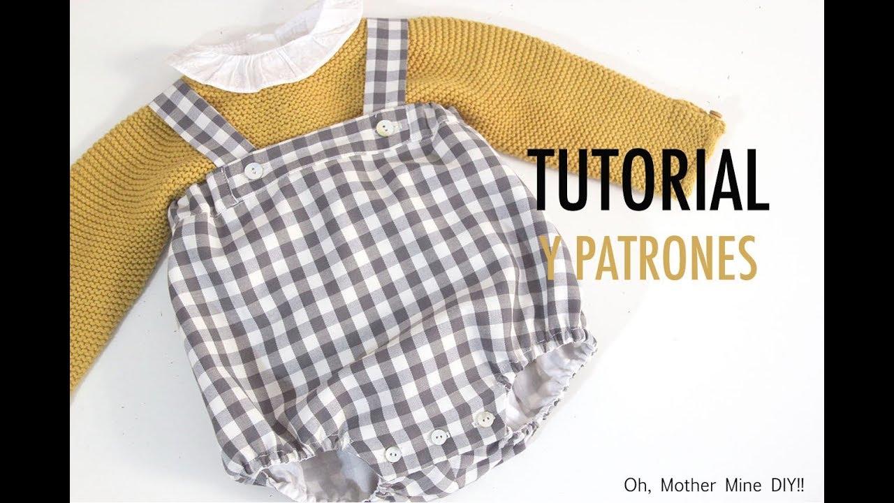 DIY Costura de ranita tipo peto para niños (patrones gratis) - YouTube