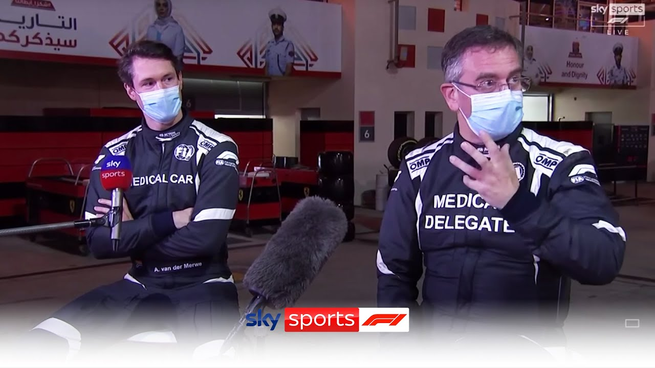 Heroic F1 medical car team explain how Grosjean escaped fireball wreckage | Bahrain Grand Prix