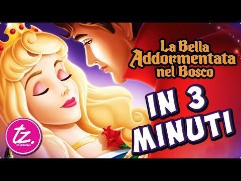 LA BELLA ADDORMENTATA NEL BOSCO | Raccontato in 3 Minuti - Classico Film Disney