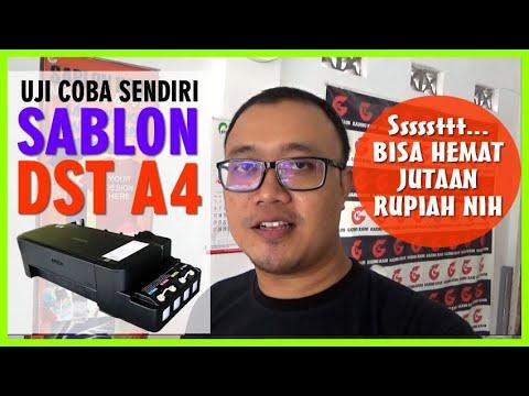 Cara Menginstal Printer Epson (L Series) Tanpa Cd.