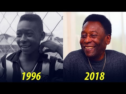 Pelé  Transformation From 1 To 77 Years Old