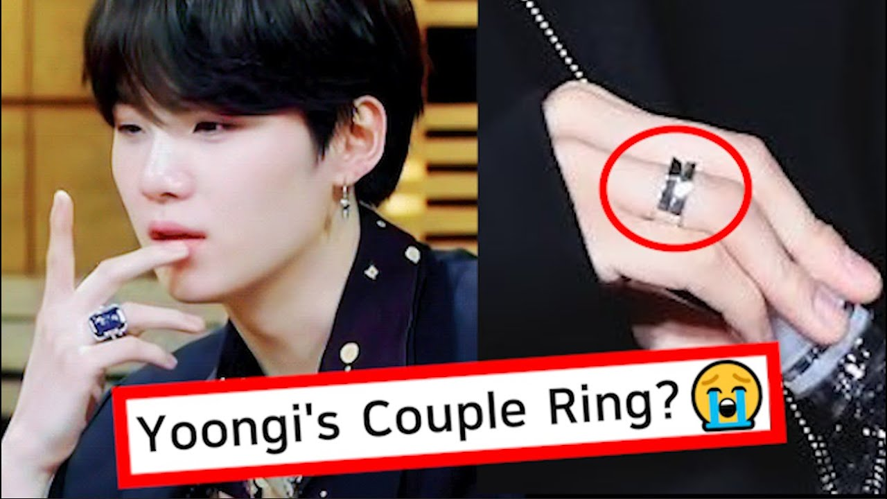 Secrets in SUGA's Couple Ring on his Hand? Why ARMYs are Crying So Much 😭