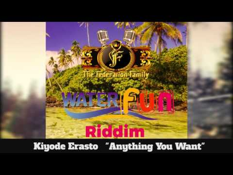 (Antigua Carnival 2016 Soca Music) Kiyode Erasto - Anything - [WaterFun Riddim]