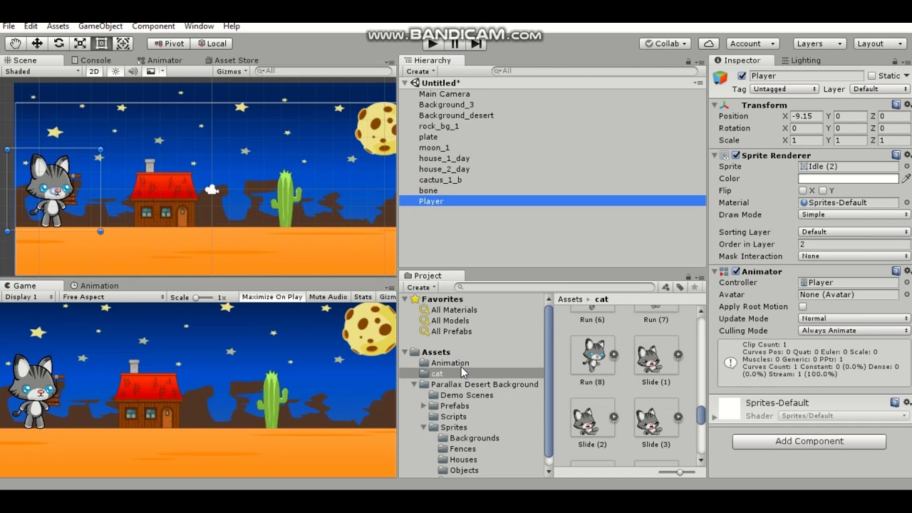 Tutorial How Make 2d Game In Unity Lesson 4 Make 2d