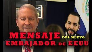 EEUU PROMETE MAS APOYO al presidente y a El Salvador