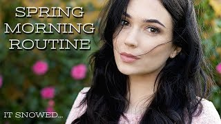 GRWM Spring Morning Routine Hair, Makeup & Outfit | TheMakeupChair