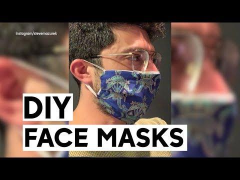 How To Make Homemade Face Masks To Fulfill Shortage During Coronavirus