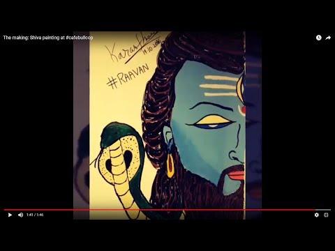 Shiva Wall Painting