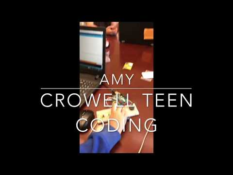 Crowell Coding Class Arduino Section