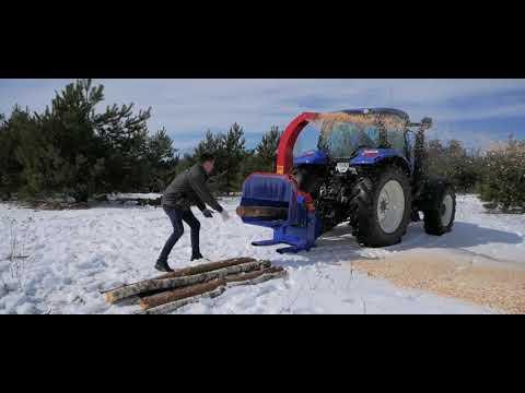 Подрібнювач деревини PL-160