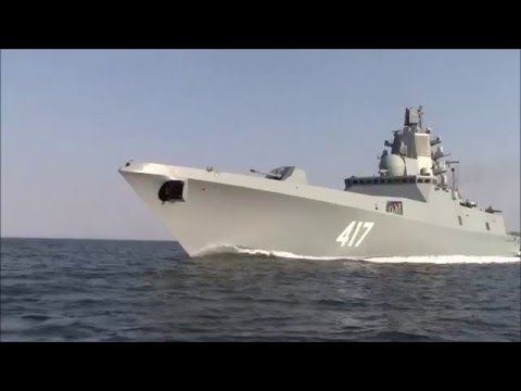 Project 22350 Admiral Gorshkov Frigate Russian Navy