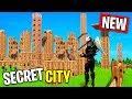 Secret NEW CITY in Fortnite!