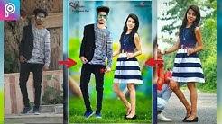 Picsart Valentine day editing || Valentine day Romantic movie poster editing|| Picsart manipulation