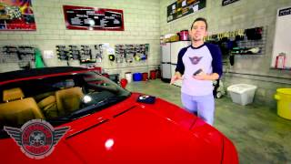 Second Skin Protection Coating - Chemical Guys Detailing Car Care Ferrari 355 Spider
