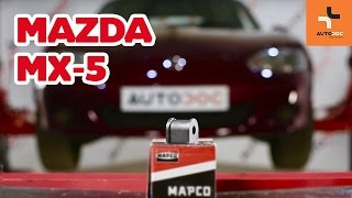 MAZDA MX-5 bal és jobb Féknyereg beszerelése: videó útmutató