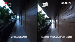 Sony's FDR-X3000 4K Action Cam   Comparison video