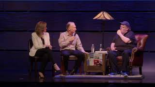 Highlights: Bill Maher and Arianna Huffington visit Michael Moore on Broadway!
