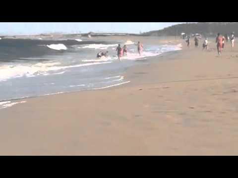 Kid dies on SandyHook NJ beach