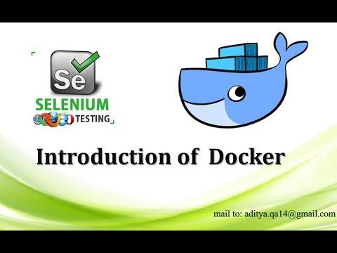 Introduction of Docker using Selenium WebDriver | OS virtualization