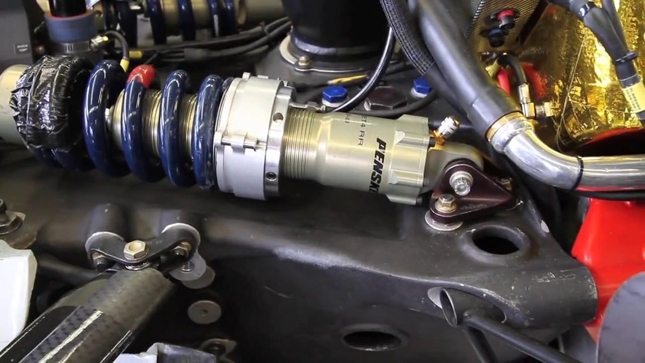 Racing Shock Video Tutorials | Penske Racing Shocks
