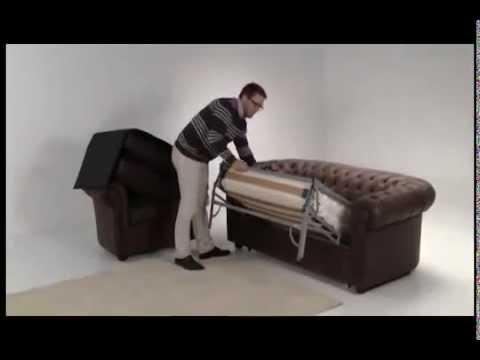 Видео как сделать диван честер своими руками