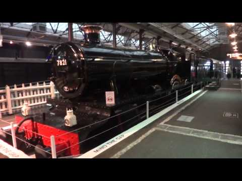 Great Western Locomotives on display at the Swindon Museum