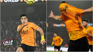 GOLAZO Raúl Jiménez le marcó al Liverpool un extraordinario gol de cabeza | Calla y Escucha