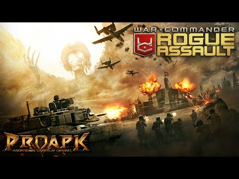 War Commander: Rogue Assault Gameplay Android / IOS