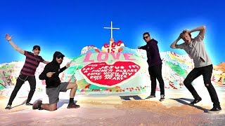 EXPLORING A SECRET CITY! | (Salvation Mountain)