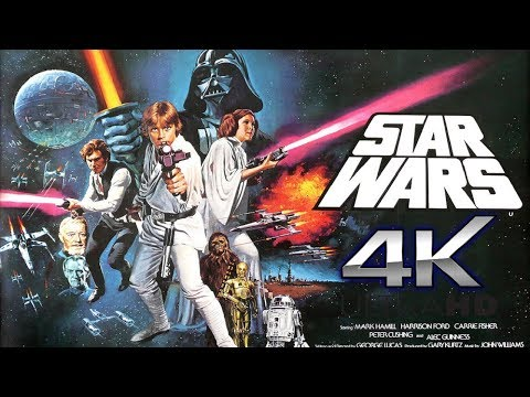 Star Wars A New Hope 4K Original Trailer 1976