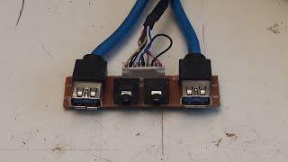 Como arreglar conector Jack 3,5mm hembra, de circuito impreso
