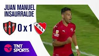 Independiente se recuperó con un valioso triunfo en Paraná
