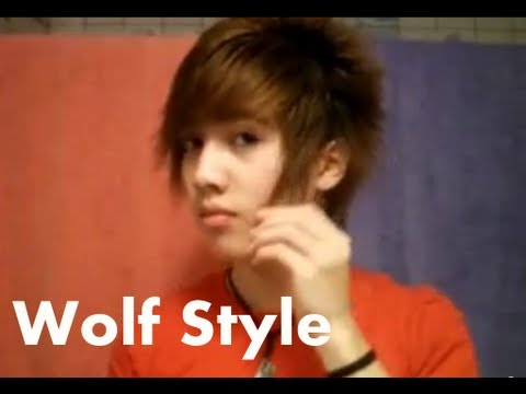 Asian Hairstyle Wolf Style Youtube