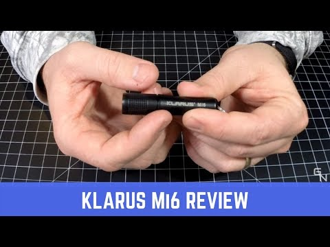 Klarus Mi6 keychain flashlight review