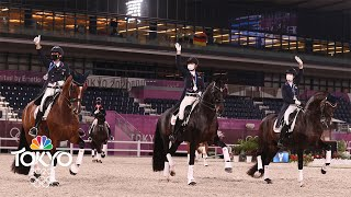 U.S. team rides to best dressage finish in 73 years   Tokyo Olympics   NBC Sports