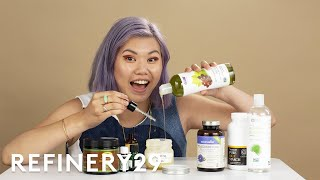 I Made This DIY Pastel Haircare Routine At Home | Beauty With Mi | Refinery29
