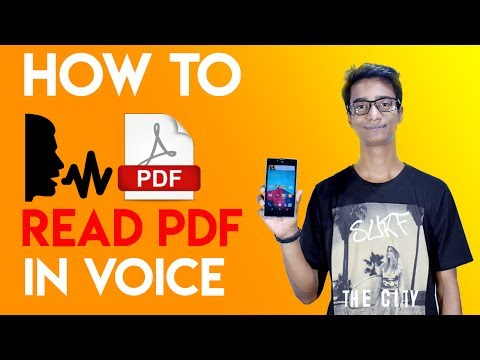 how to read pdf in voice on android