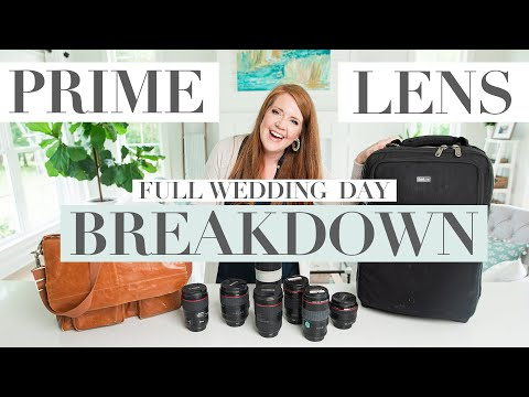 My System For Managing Prime Lenses During A Wedding Day