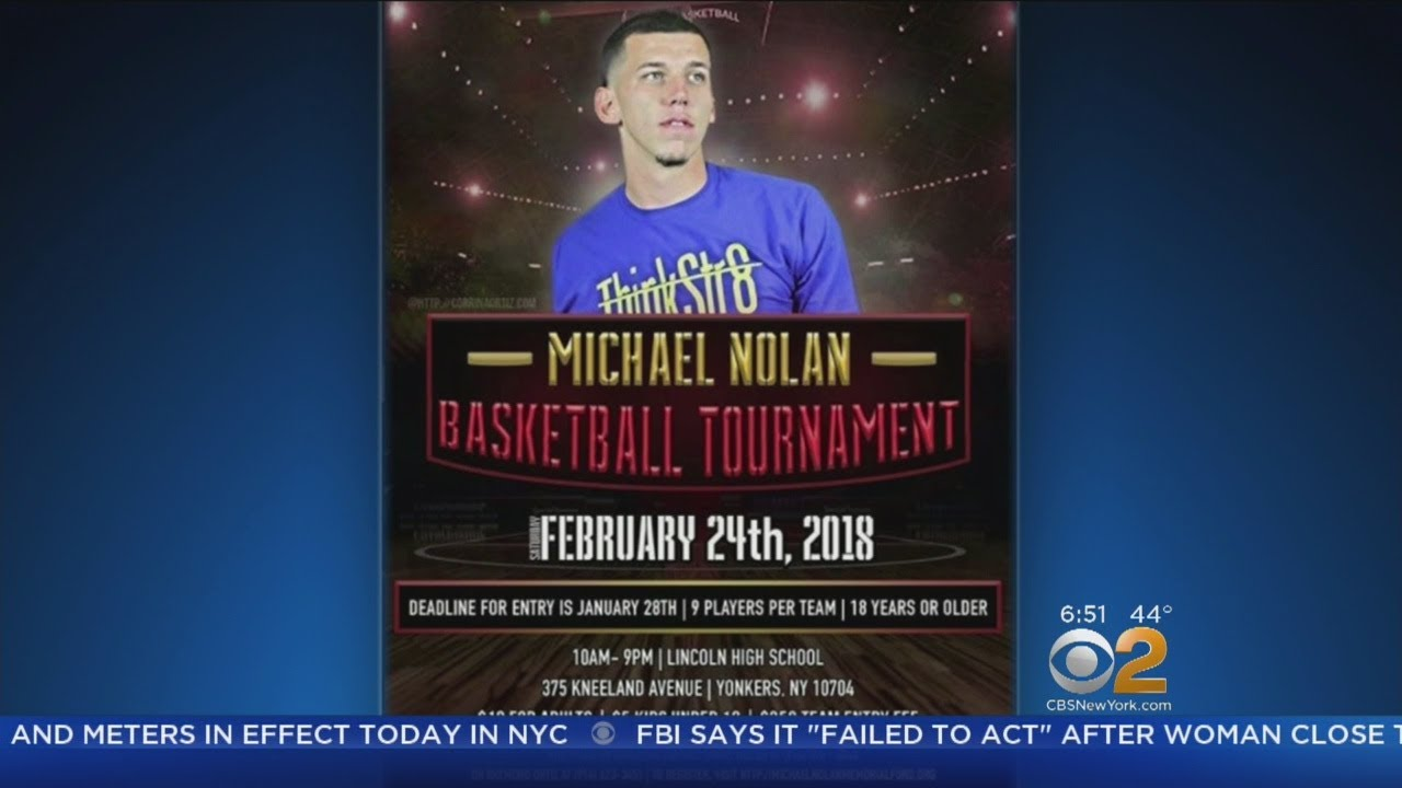 Basketball Tournament Held For Local Ballplayer Killed In Drive-By Shooting