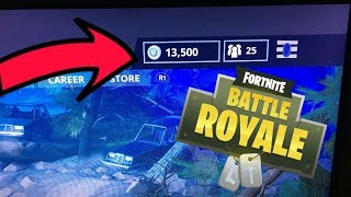 Urgent!! WIN NOW 13500 FREE V-BUCKS AT FORTNITE EASY AND FAST
