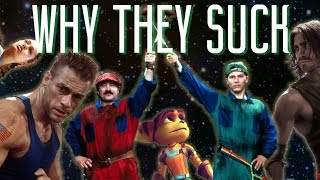 Video Game Movies - Why They Always Suck
