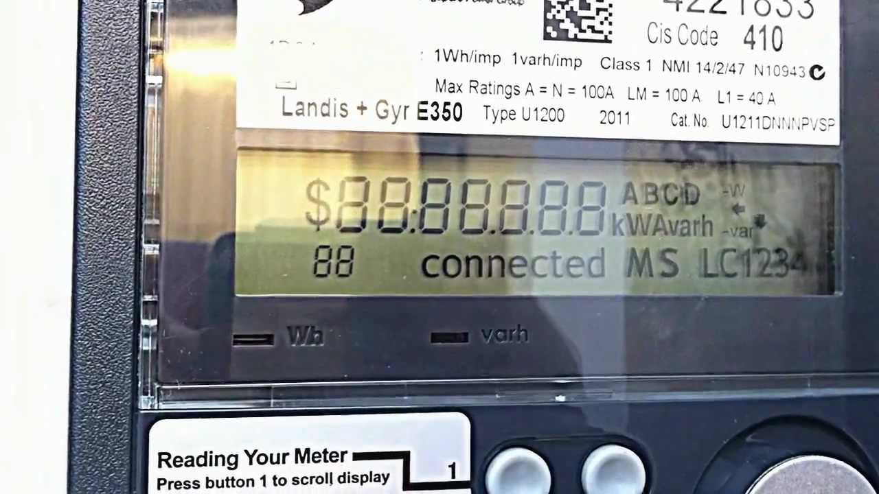 solar smart meter and inverter sp ausnet youtube rh youtube com Landis Gyr USA Landis Gyr Logo