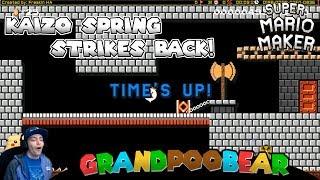 Two Killer SMB1 Speedrun Levels! Mario Maker