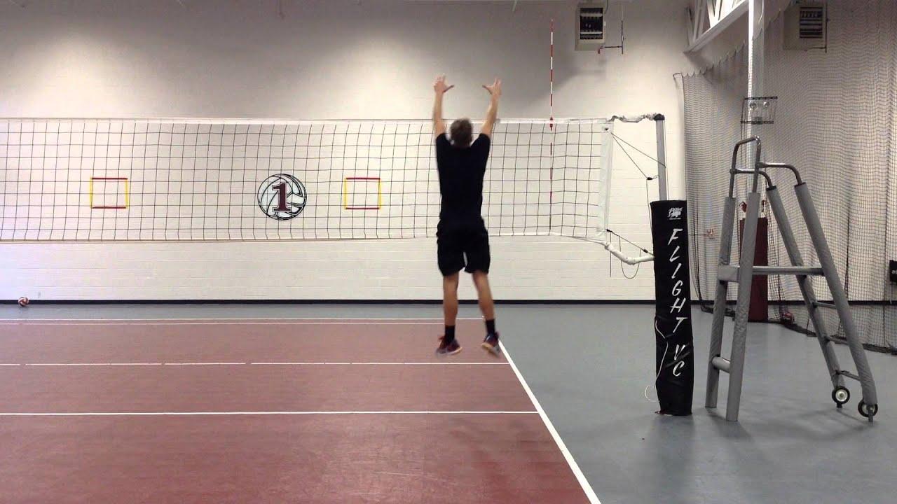 Captivating Logan Nash Skills Video   2017 Outside Hitter Club 1 VBC